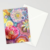 Flowered Table Stationery Cards