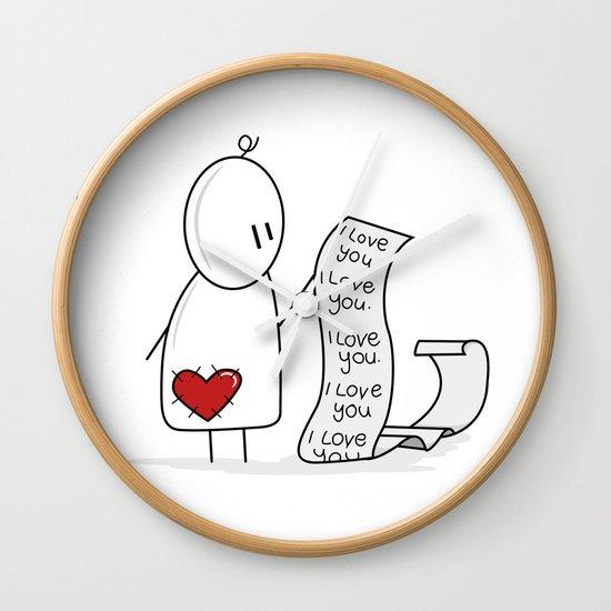 I Love You... A Lot. Wall Clock