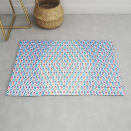 Dots and Triangles Rug
