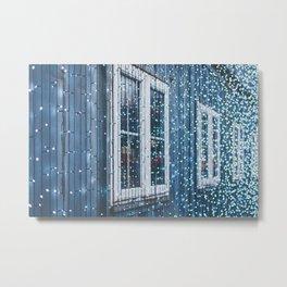 Holiday Window Metal Print
