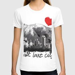 I love Salt Lake City T-shirt
