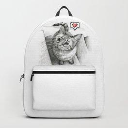 Cute Kitty Cat - Love Me Backpack