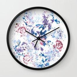 Botanical Impressions: BOUQUET 1 Wall Clock