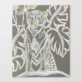 Tiger's Prowl Canvas Print