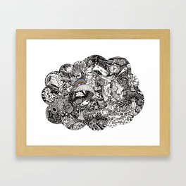 Thought Bubble #1 - Holiday Framed Art Print