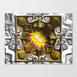 Gnarly Sunflower Canvas Print