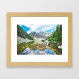 Lake Agnes, Alberta Framed Art Print