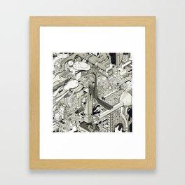 An Intimate Revelation Quivering on the Horizon Framed Art Print