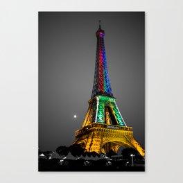 Couleur - Eiffel Tower Canvas Print