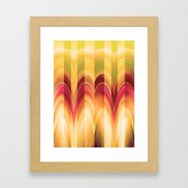 Pattern Of Petals Framed Art Print