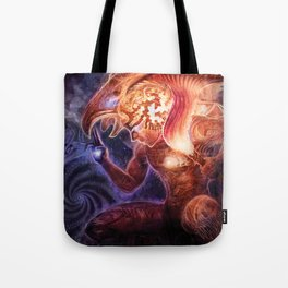 Neolithic Man (Astral Waves CD cover) Tote Bag