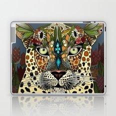 leopard queen blue Laptop & iPad Skin