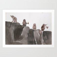 composition13 Art Print
