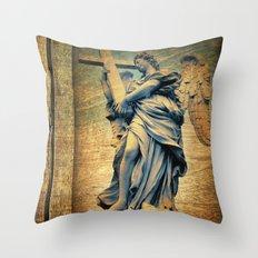 Angel I Throw Pillow