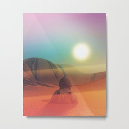 Sundazed Metal Print