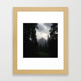 Picture Mountains Framed Art Print