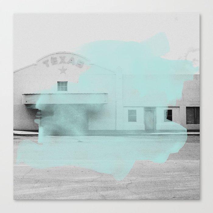 Blue Texas / Marfa Canvas Print