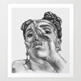 fka twigs 2 Art Print