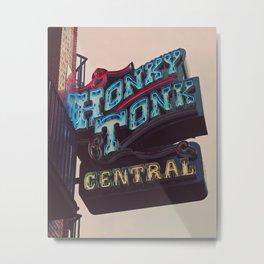 Nashville Honky Tonk  Metal Print
