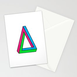 Impossible Isosceles Stationery Cards