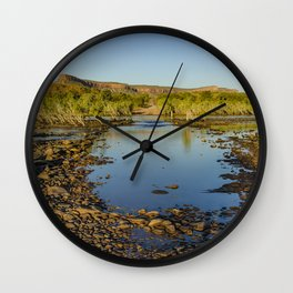 Pentecost River Crossing Wall Clock