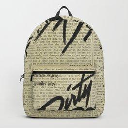 Dirty Dancing Backpack