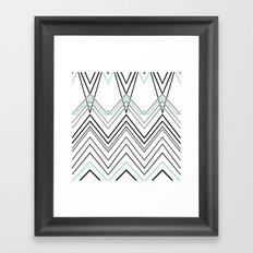 Mint Chevy Framed Art Print