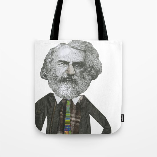 Mr Moody pants Tote Bag