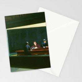 Edward Hopper's Nighthawks and Jack Torrance Stationery Cards