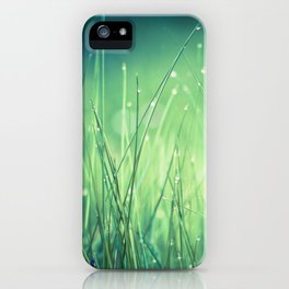 light-water and grass iPhone Case