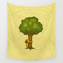 Tree Hugger Wall Tapestry