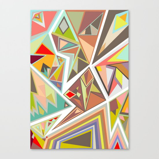 Shattered Glass Canvas Print