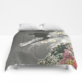 Spring Skiing Comforters
