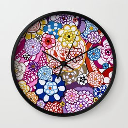 Look Out World! Wall Clock