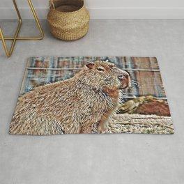 SmartMix Animal Capybara Rug