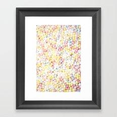 Sugar Sprinkles Framed Art Print