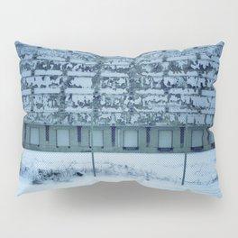 Warehouse Wall, Detroit. Pillow Sham