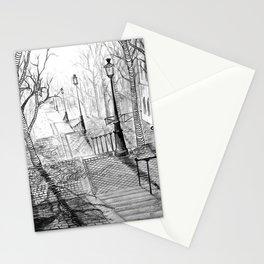 Rue Foyatier des Lignes Stationery Cards