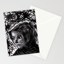 Uyghur Woman Stationery Cards