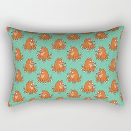 Octopus Fox Rectangular Pillow