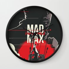 Mad Max - fury road Wall Clock