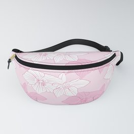 Pink Hellebores Fanny Pack