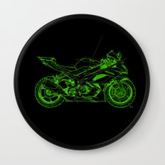 Kawasaki motorcycle Wall Clock