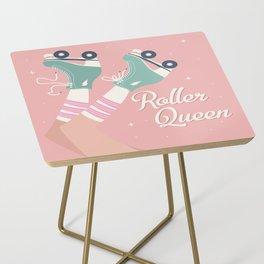 Roller skates girl 02 Side Table