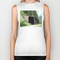 john snow Biker Tanks featuring Snow Shed by NoelleB