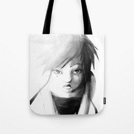 Grey Japanita Tote Bag