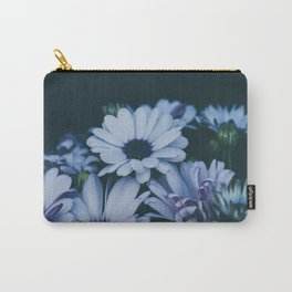Flower Photography by Echo Grid Carry-All Pouch