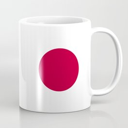 National flag of Japan Coffee Mug