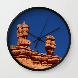 Dixie Forest Hoodoos Wall Clock