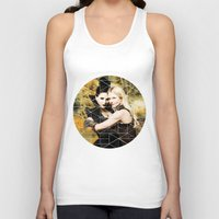 swan queen Tank Tops featuring Swan Queen II by Geek World